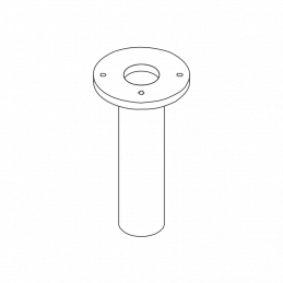 Brudledstander underpart Ø 76 mm