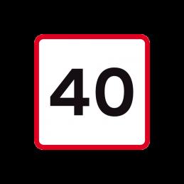 UA 41 - Hastighedsangivelse