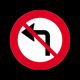 C11.2 - Venstresving forbudt