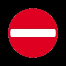 C19 - Indkørsel forbudt