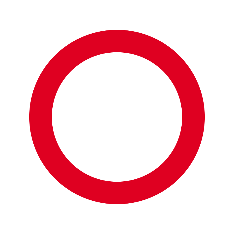 C21 - Kørsel i begge retninger forbudt