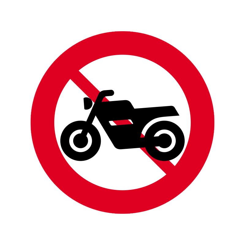 C22.2 - Motorcykel og stor knallert forbudt