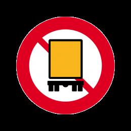C23.3 - Kørsel med farligt gods forbudt