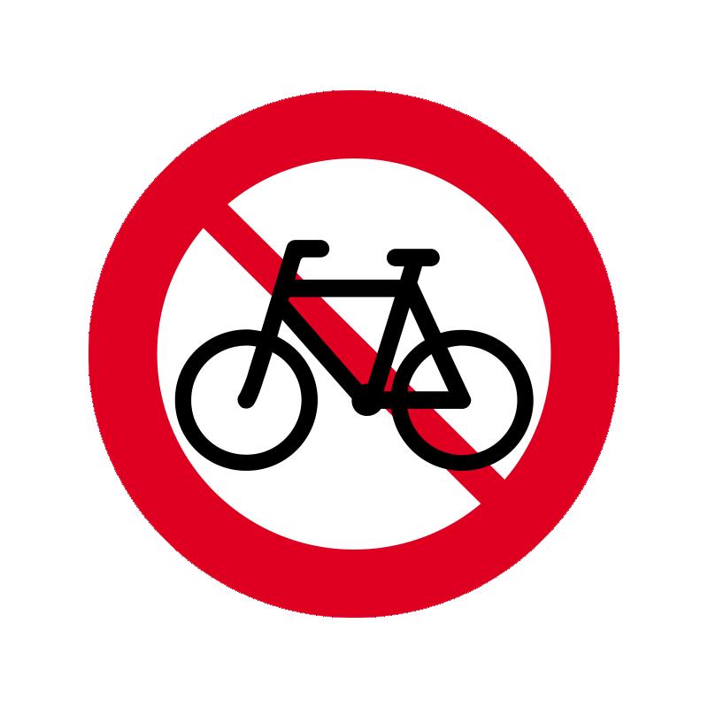 C25.1 - Cykel og lille knallert forbudt