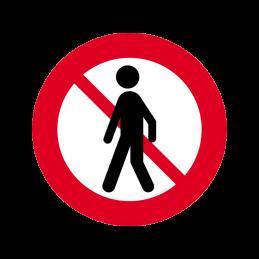 C26.2 - Fodgængere forbudt