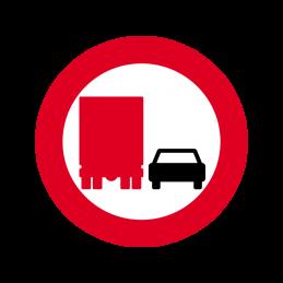 C52 - Overhaling med lastbil forbudt