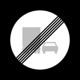 C54 - Ophør af overhaling med lastbil forbudt