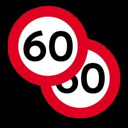 C55/C55 - Lokal hastighedsbegrænsning