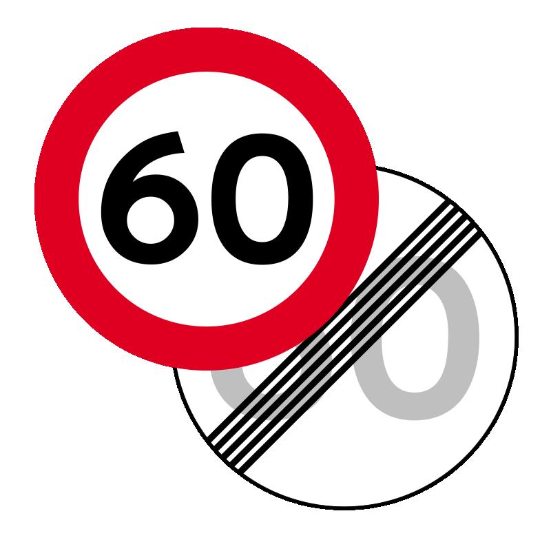 C55/C56 - Lokal hastighedsbegrænsning