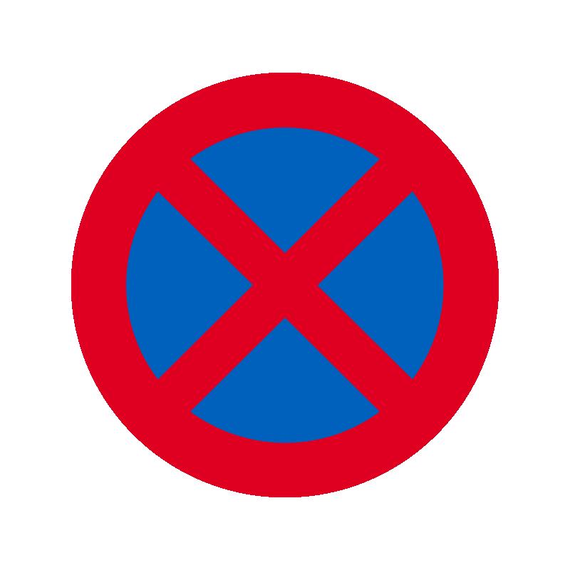 C61 - Standsning forbudt