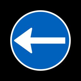 D11.2 - Påbudt kørselsretning