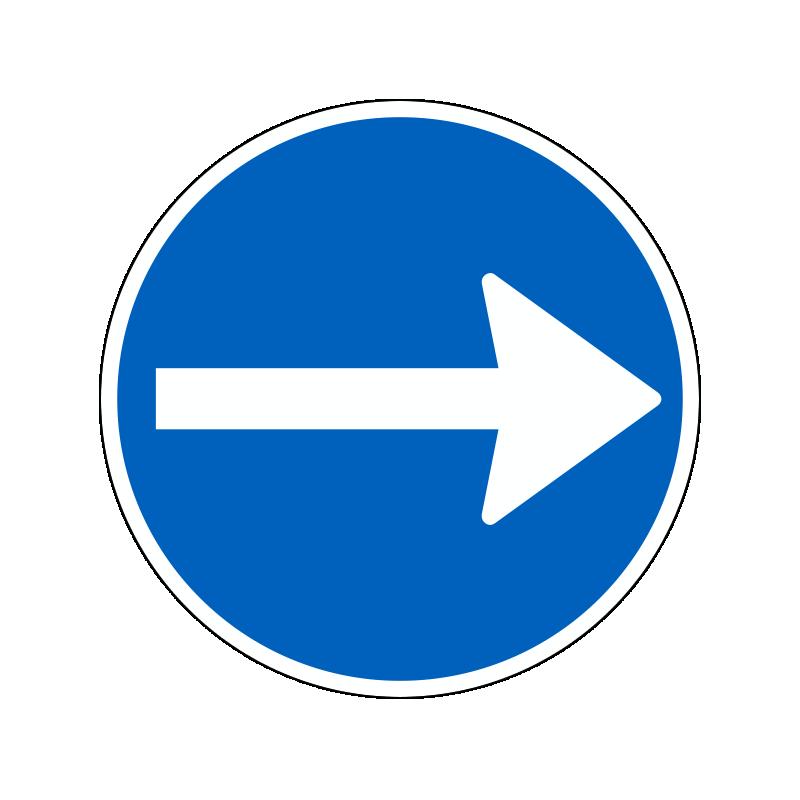 D11.3 - Påbudt kørselsretning