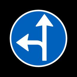 D11.6 - Påbudt kørselsretning
