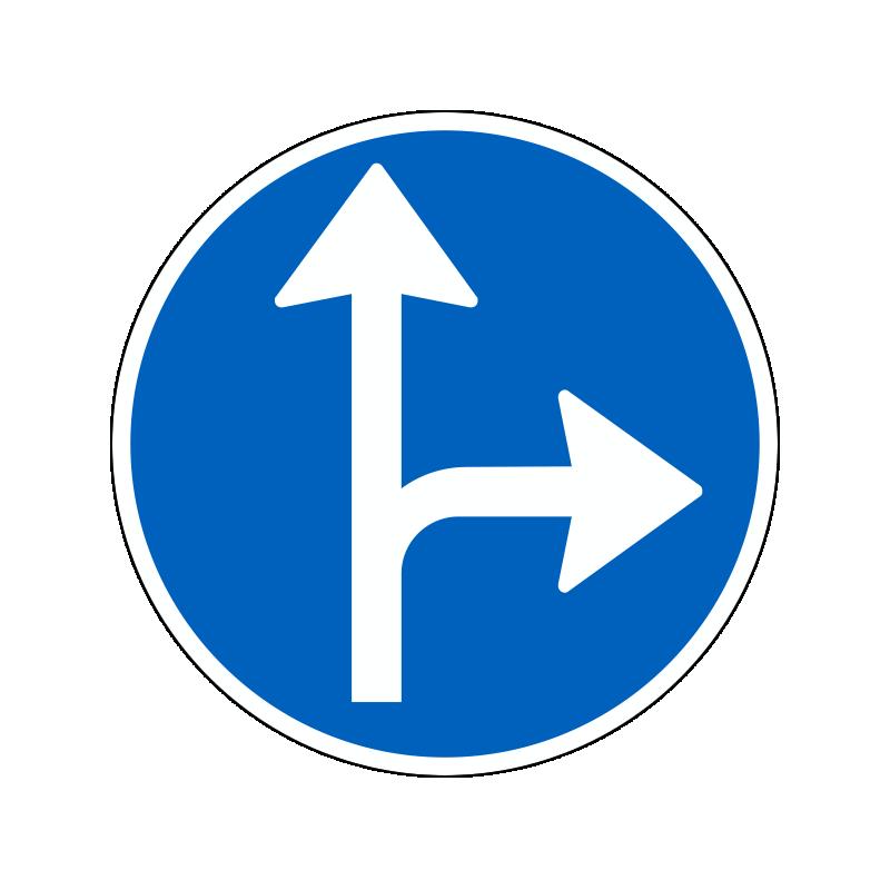 D11.7 - Påbudt kørselsretning