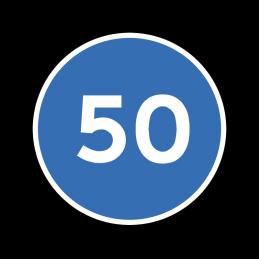 D55 - Mindste hastighed