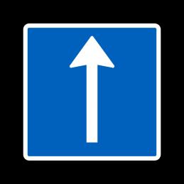 E11.1 - Ophængt pileafmærkning