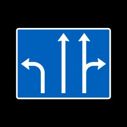 E15 - Vognbaner ved kryds