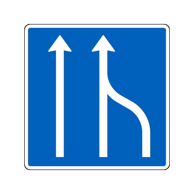 E16.1.5 - Vognbaneforløb med sammenfletning