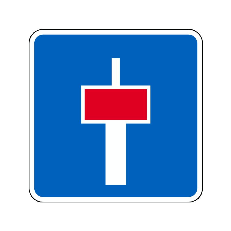 E18.1 - Blind vej