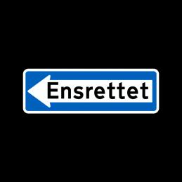 E19.1 - Ensrettet venstre
