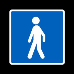 E21.2 - Anbefalet rute for vandrene
