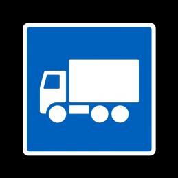 E22.1 - Anbefalet rute for lastbiler
