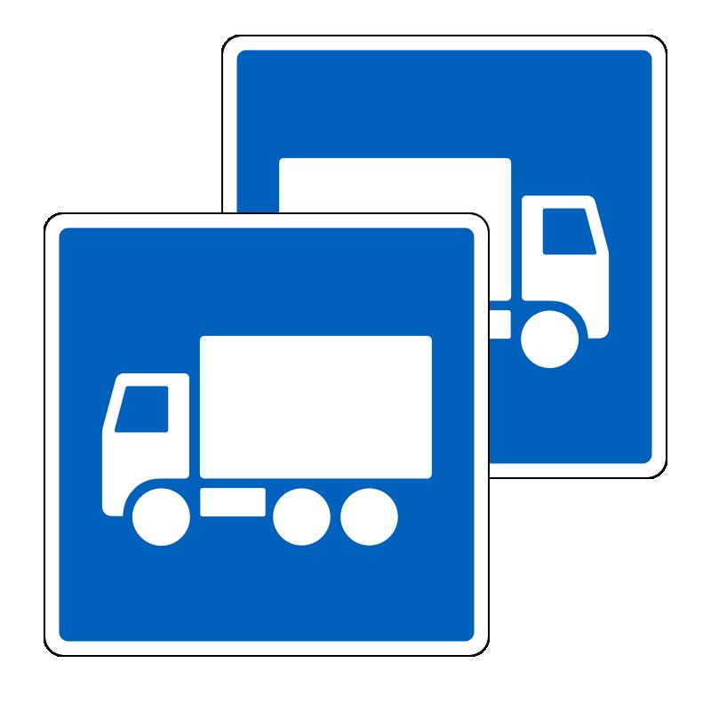E22.1/E22.1 - Anbefalet rute for lastbiler