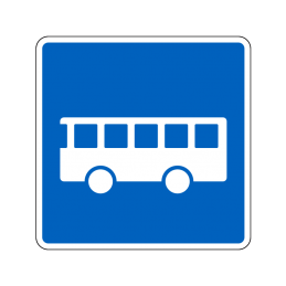 E22.4 - Anbefalet rute for bus