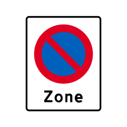 E68.1 - Zone med parkering forbudt