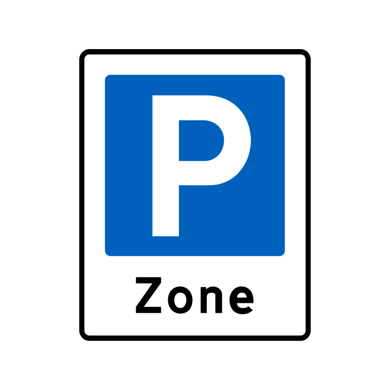 E68.3 - Zone med parkering