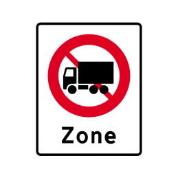 E68.5 - Zone med lastbil forbudt