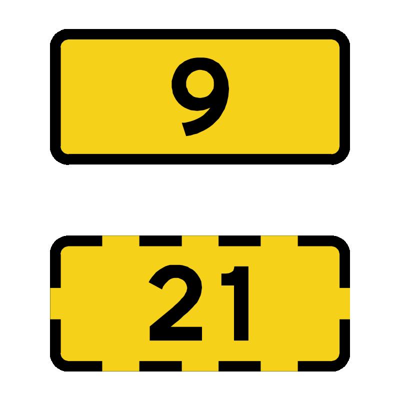L42 - Rutenummer til primærrute