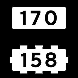 L43 - Rutenummer til sekundærrute