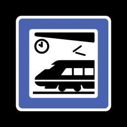 M 13 - Jernbanestation