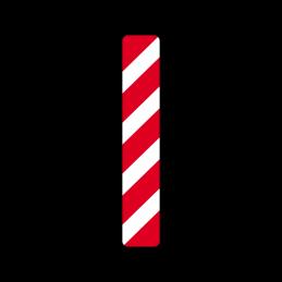 N 42.2 - Kantafmærkning mod venstre