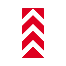 N 43 - Spidsmarkering