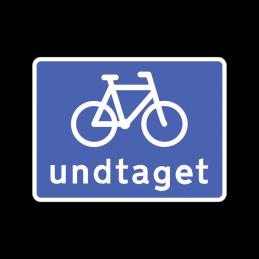 U 5.4 - Cyklister undtaget