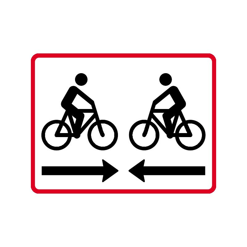 UB 11.2 - Dobbeltrettet cykelsti