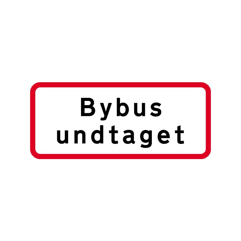 UC 20.5 - Bybus undtaget