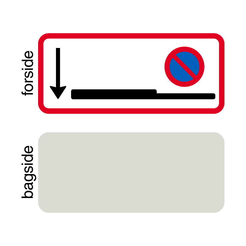 UC 60.6.3 - Parkering i rabatten forbudt