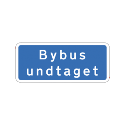 UD 11.3 - Bybus undtaget
