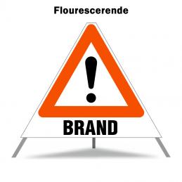 Foldeskilt - A99 + Brand