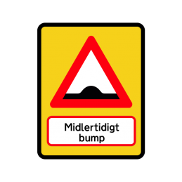 A36.1 Midlertigt bump