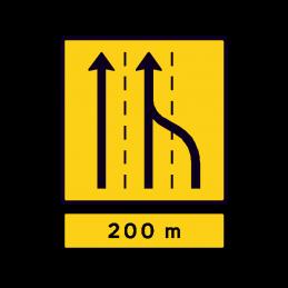 E 16.5.1 - Vognbaneforløb