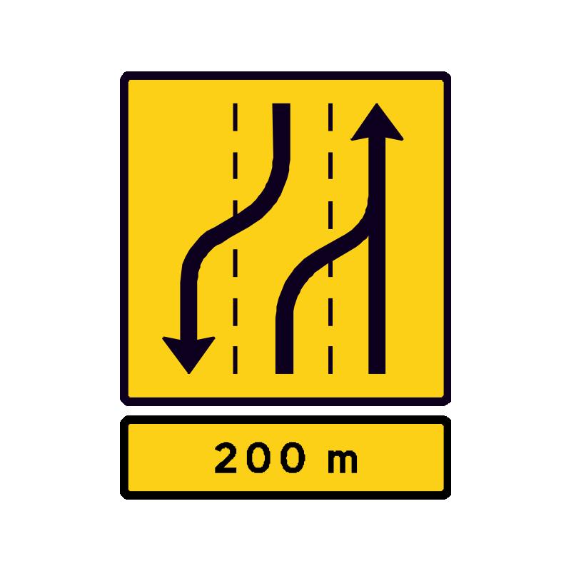 E16.5.3 Vognbaneforløb