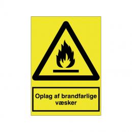 Oplag af brandfarlige væsker