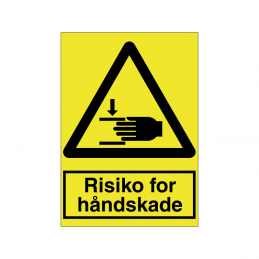 Risiko for håndskade