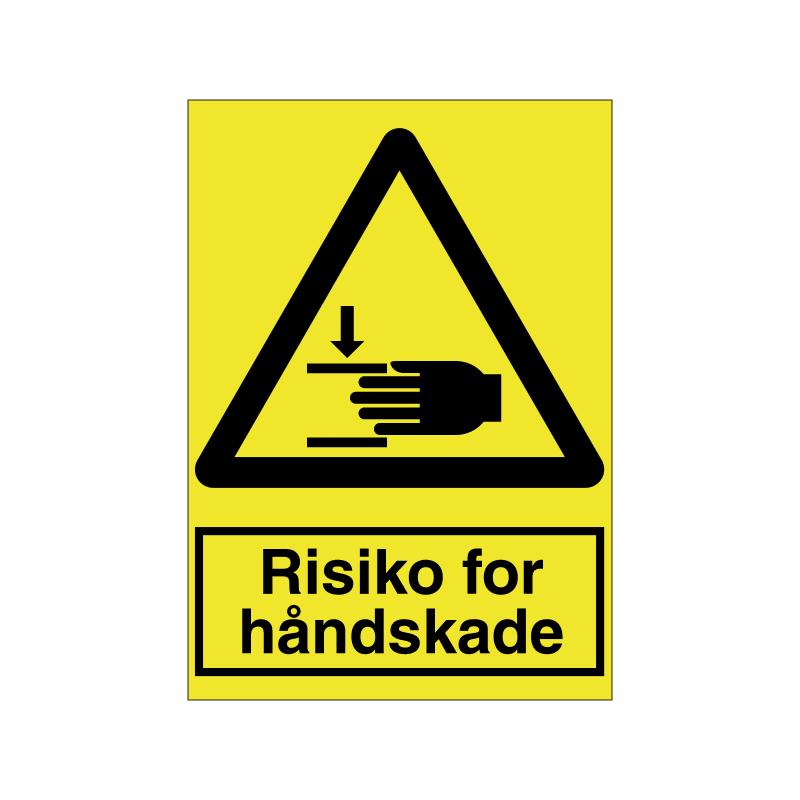 Risiko for håndskade