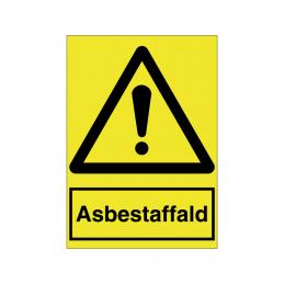 asbestaffald