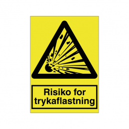 Risiko for trykaflastning